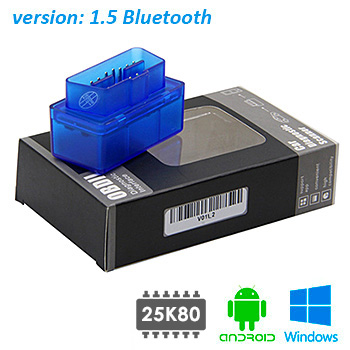Автосканер ELM327 v1.5 Bluetooth New version