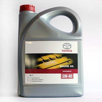 TOYOTA Engine Oil 5W40 Cинтетика 5L