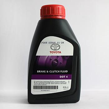 Рідина гальмівнаTOYOTA DOT-4 0.5L