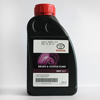 Рідина гальмівнаTOYOTA DOT-5.1 0.5L