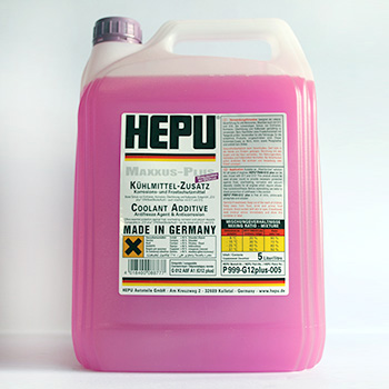 HEPU CONCENTRATE P999 G12plus ФИОЛЕТОВЫЙ 5L