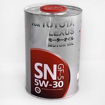 FOR TOYOTA LEXUS 5W30 Cинтетика 1Л