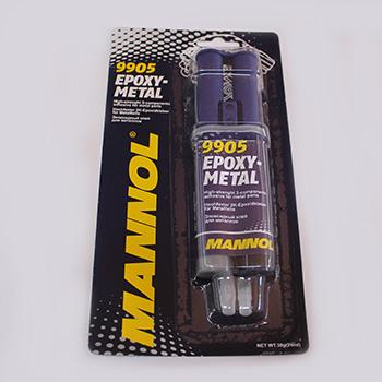 Двухкомпонентный клей для металла MANNOL 30гр