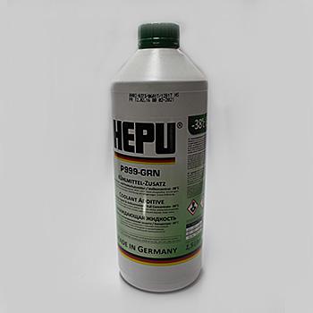 HEPU ANTIFREEZE P999-GRN Зелёный 1.5L