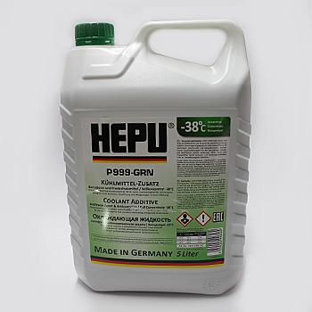 HEPU ANTIFREEZE P999-GRN Зелёный 5L