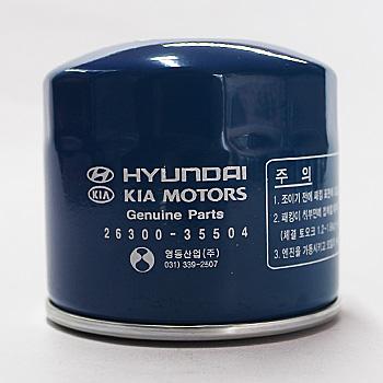 Фільтр масляний HYUNDAI