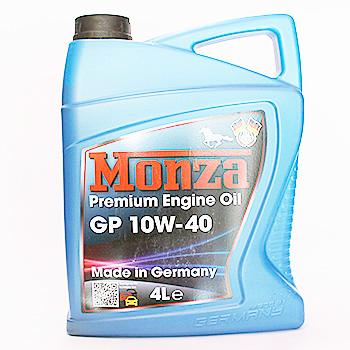 Масло моторное MONZA GP 10W40 4L