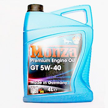 Масло моторне MONZA GP 5W40 4L