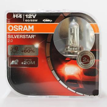 Лампа Галогенні OSRAM H4 12V 60/55W SILVERSTAR
