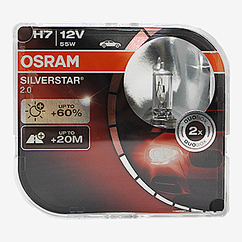 Лампа Галогенні OSRAM LINE H7 12V 55W SILVERSTAR