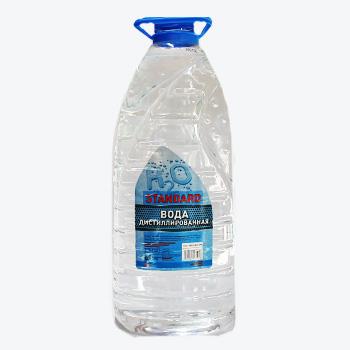 Вода дистильована STANDART 5L