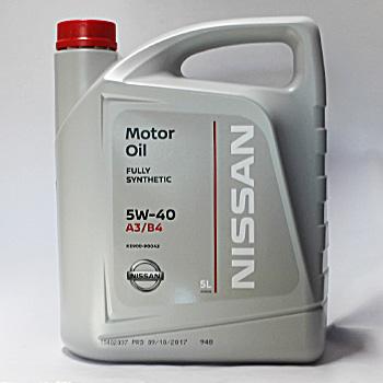 Масло моторне NISSAN 5W40 5Л