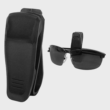 Тримач для окулярів з кріпленням на козирок